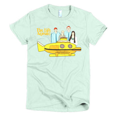 Life Aquatic Ladies T-shirt Team Zissou - Dicky Ticker  - 11
