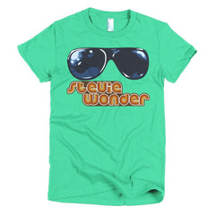 Stevie Wonder Ladies T-shirt - Dicky Ticker  - 10