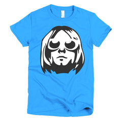 Kurt Cobain Ladies T-shirt - Dicky Ticker  - 10