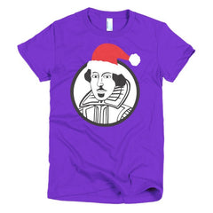 Shakespeare Ladies T-shirt Xmas - Dicky Ticker  - 9