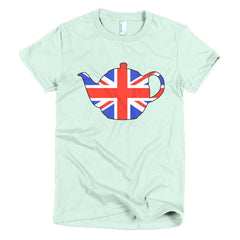 Union Jack Teapot Ladies T-shirt - Dicky Ticker  - 9