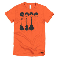 Beatles Ladies T-shirt Instruments - Dicky Ticker  - 17