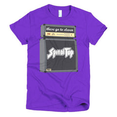 Spinal Tap Ladies T-shirt - Dicky Ticker  - 8