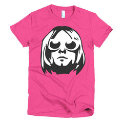 Kurt Cobain Ladies T-shirt - Dicky Ticker  - 17