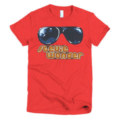 Stevie Wonder Ladies T-shirt - Dicky Ticker  - 19