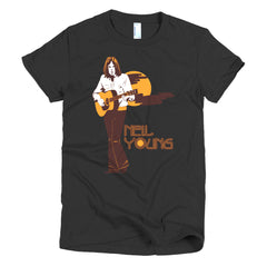 Neil Young Women's T-shirt Harvest