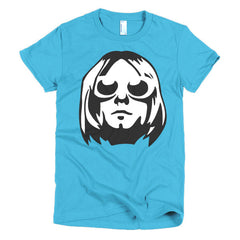 Kurt Cobain Ladies T-shirt - Dicky Ticker  - 11