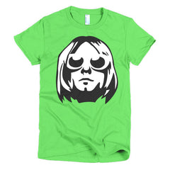 Kurt Cobain Ladies T-shirt - Dicky Ticker  - 7