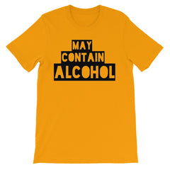 May Contain Alcohol T-shirt Beer