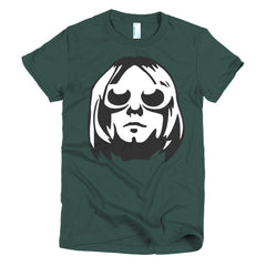 Kurt Cobain Ladies T-shirt - Dicky Ticker  - 4