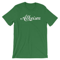 Atheism T-shirt Godless Shirt Wonder Jesus