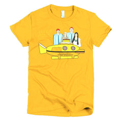 Life Aquatic Ladies T-shirt Team Zissou - Dicky Ticker  - 17