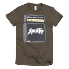 Spinal Tap Ladies T-shirt - Dicky Ticker