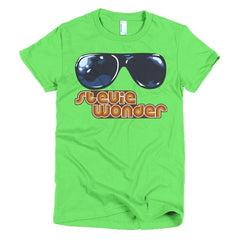 Stevie Wonder Ladies T-shirt - Dicky Ticker  - 8