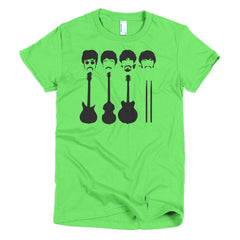 Beatles Ladies T-shirt Instruments - Dicky Ticker  - 10