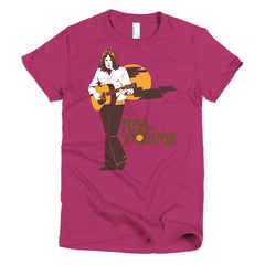 Neil Young Ladies T-shirt Harvest - Dicky Ticker  - 18