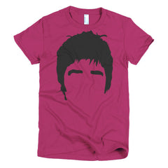 Noel Gallagher Ladies T-shirt Hair - Dicky Ticker
