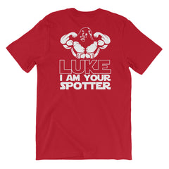Star Wars T-shirt Luke I Am Your Spotter Gym Weightlifting