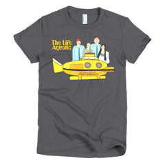 Life Aquatic Ladies T-shirt Team Zissou - Dicky Ticker  - 5