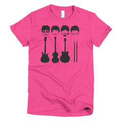 Beatles Ladies T-shirt Instruments - Dicky Ticker  - 20