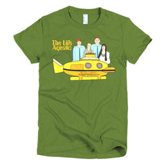 Life Aquatic Ladies T-shirt Team Zissou - Dicky Ticker  - 4