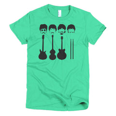 Beatles Ladies T-shirt Instruments - Dicky Ticker  - 12