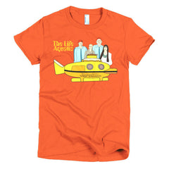 Life Aquatic Ladies T-shirt Team Zissou - Dicky Ticker  - 16