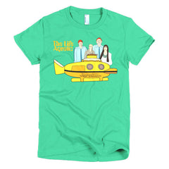 Life Aquatic Ladies T-shirt Team Zissou - Dicky Ticker  - 12