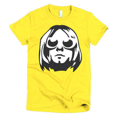 Kurt Cobain Ladies T-shirt - Dicky Ticker  - 12