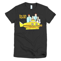 Life Aquatic Ladies T-shirt Team Zissou - Dicky Ticker  - 3
