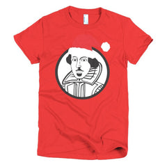 Shakespeare Ladies T-shirt Xmas - Dicky Ticker  - 19