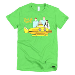 Life Aquatic Ladies T-shirt Team Zissou - Dicky Ticker  - 10