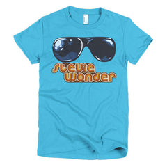 Stevie Wonder Ladies T-shirt - Dicky Ticker  - 14