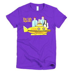 Life Aquatic Ladies T-shirt Team Zissou - Dicky Ticker  - 9