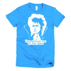 David Bowie Ladies T-shirt Labyrinth - Dicky Ticker
