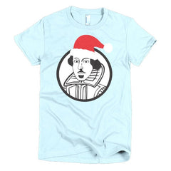 Shakespeare Ladies T-shirt Xmas - Dicky Ticker  - 13