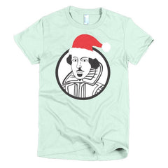 Shakespeare Ladies T-shirt Xmas - Dicky Ticker  - 10