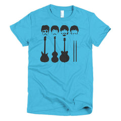 Beatles Ladies T-shirt Instruments - Dicky Ticker  - 15