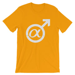 Alpha Male T-shirt Gender Sign @