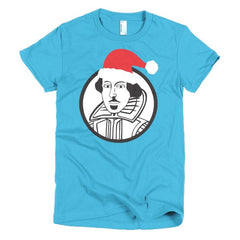 Shakespeare Ladies T-shirt Xmas - Dicky Ticker  - 15
