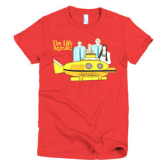 Life Aquatic Ladies T-shirt Team Zissou - Dicky Ticker  - 19