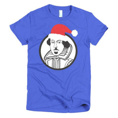 Shakespeare Ladies T-shirt Xmas - Dicky Ticker  - 14