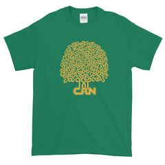 Can T-shirt Prog Rock Brain Tree Tago