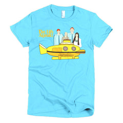 Life Aquatic Ladies T-shirt Team Zissou - Dicky Ticker  - 14