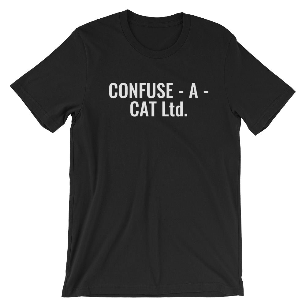 Confuse - A - Cat Ltd. T-shirt Inspired by Monty Python