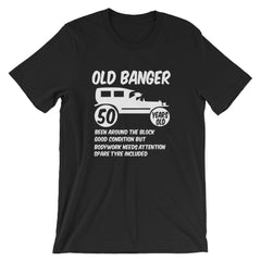 Old Banger Mens 50th Birthday Present T shirt Sizes Small to XXL
