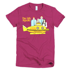 Life Aquatic Ladies T-shirt Team Zissou - Dicky Ticker  - 18