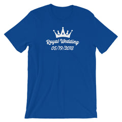 Invitation Royal Wedding T-shirt Union Jack