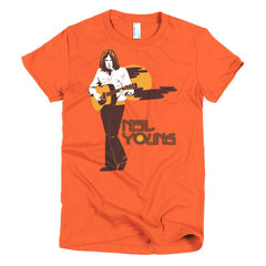 Neil Young Ladies T-shirt Harvest - Dicky Ticker  - 16