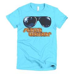 Stevie Wonder Ladies T-shirt - Dicky Ticker  - 12